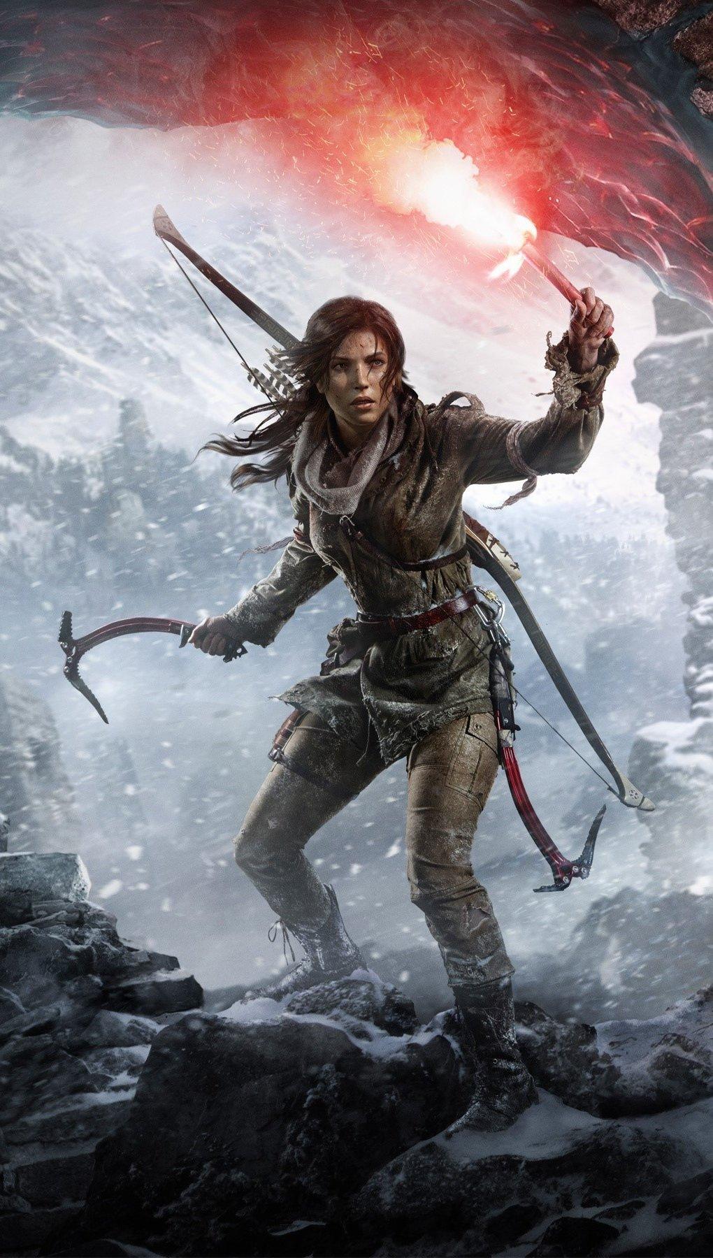 Fondos de pantalla The Rise Of The Tomb Raider Vertical