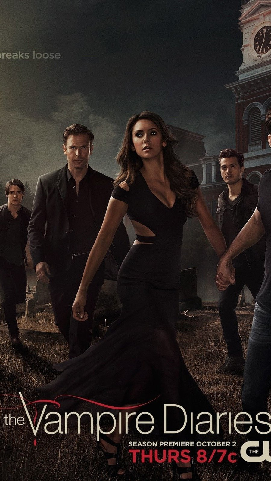 Wallpaper The vampire Diaries still of season 6 Vertical
