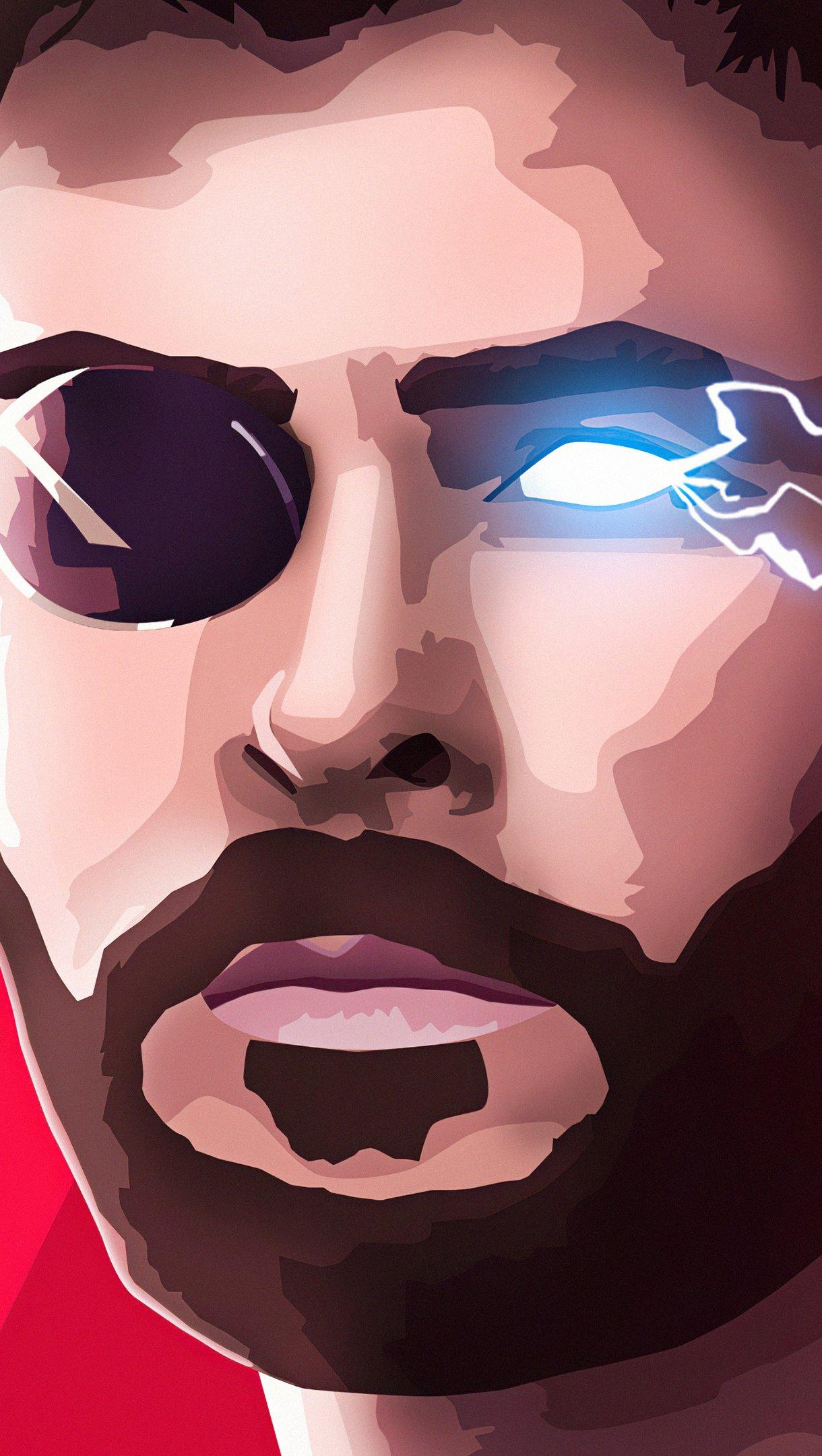 Fondos de pantalla Thor Avenger Infinity War Vertical
