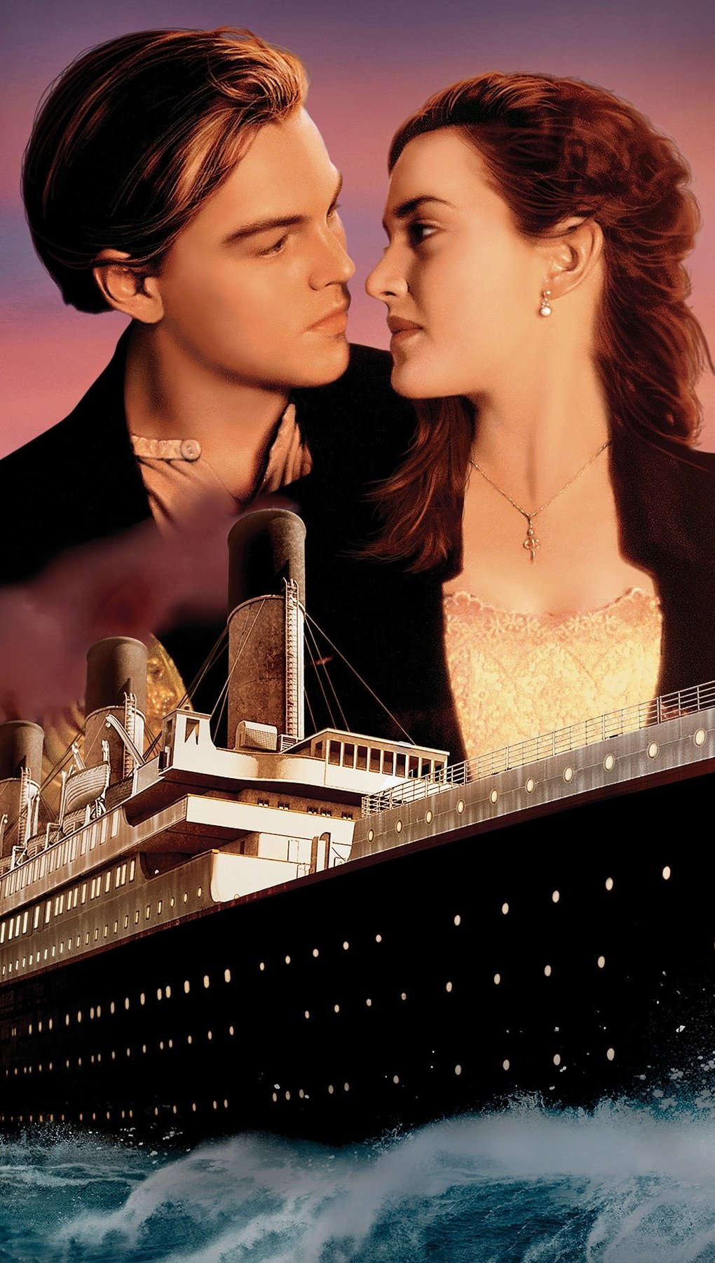 Wallpaper Titanic Vertical