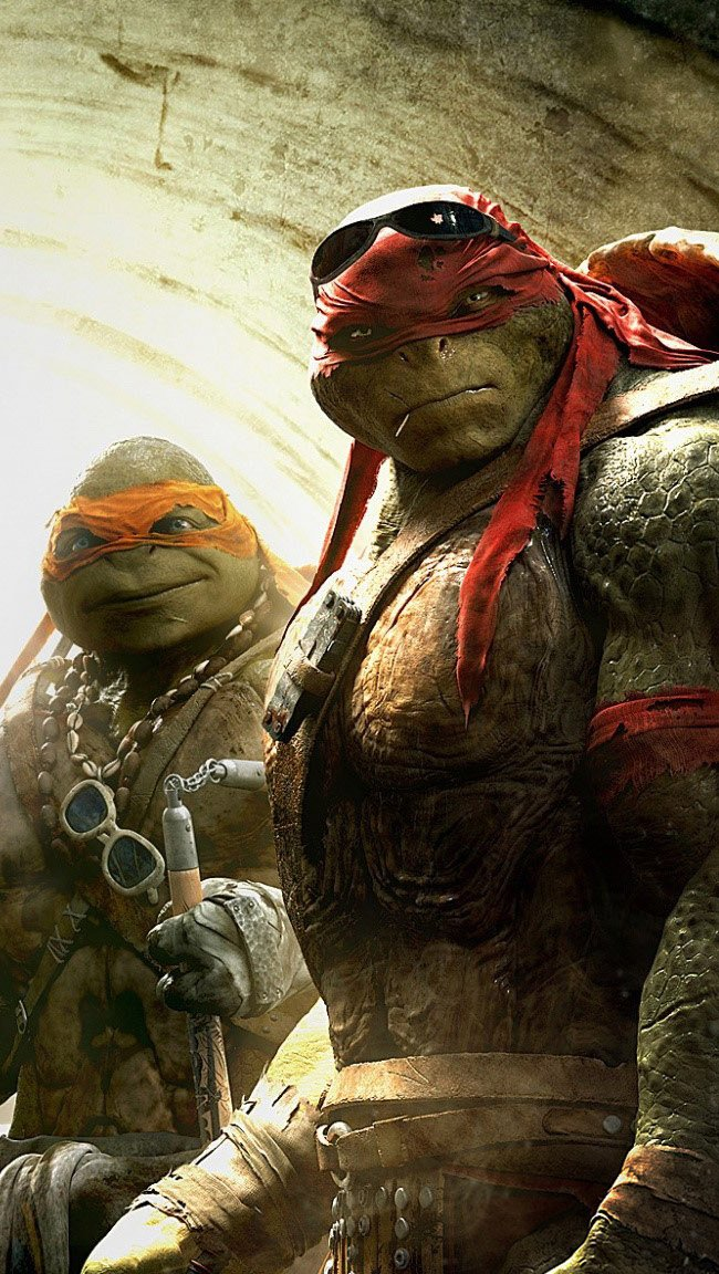 Wallpaper All the ninja turtles Vertical