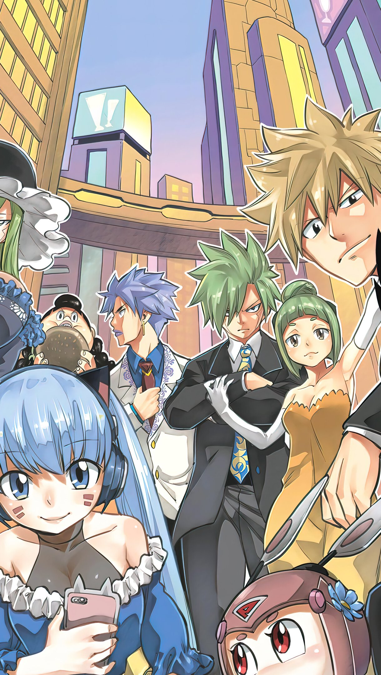 Anime Wallpaper All Characters from Edens Zero Vertical
