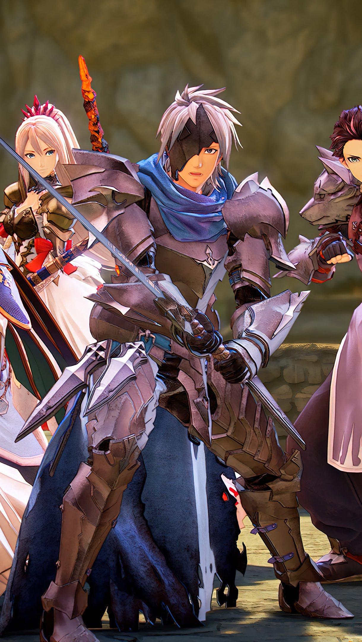 Fondos de pantalla Todos los personajes de Tales of Arise Vertical