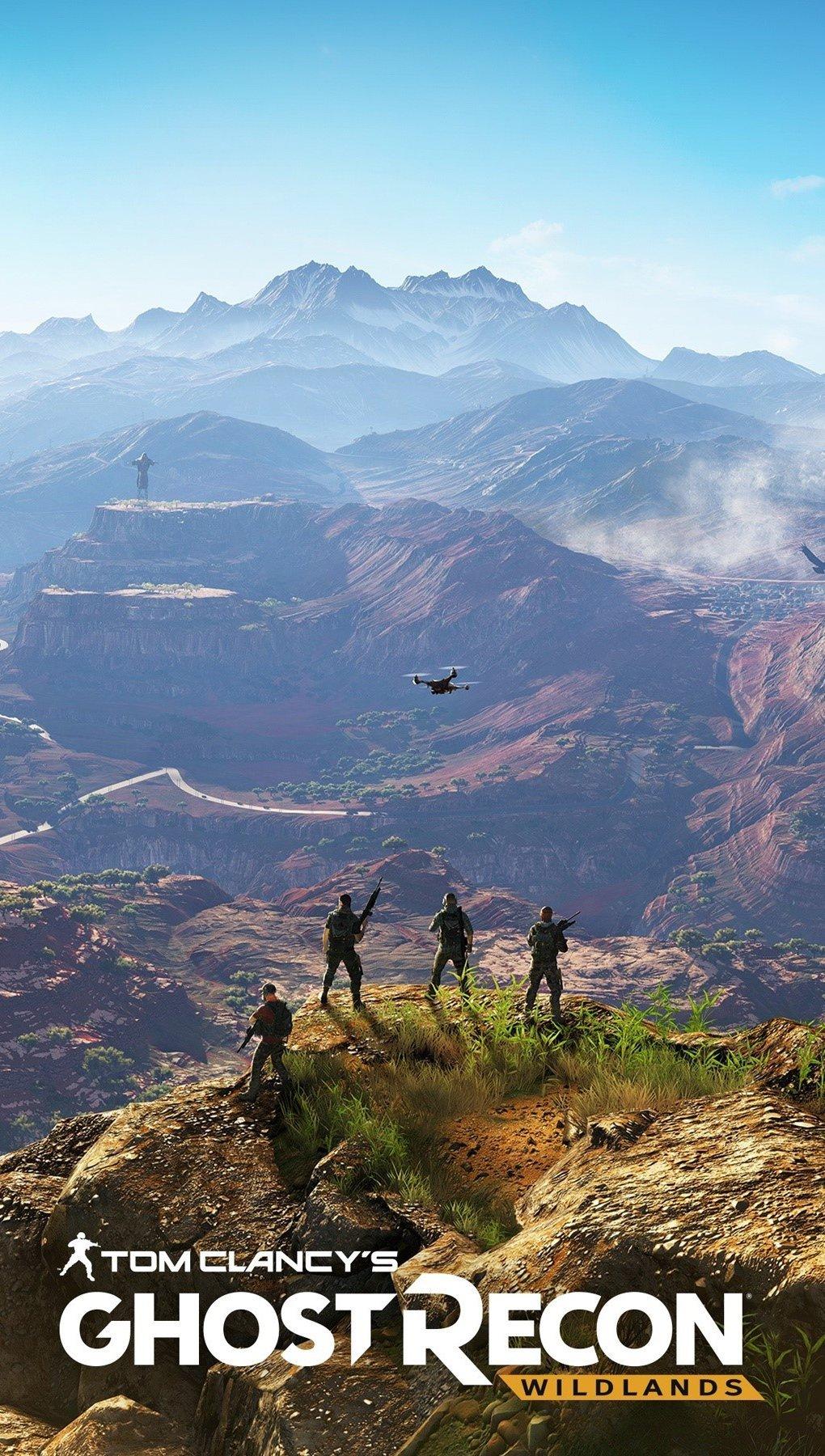 Wallpaper Tom Clancy's Ghost Recon Wildlands Vertical