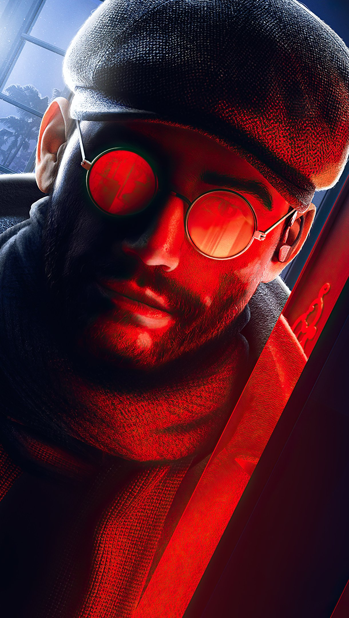 Wallpaper Tom Clancy's Rainbow Six Siege Crimson Heist Vertical