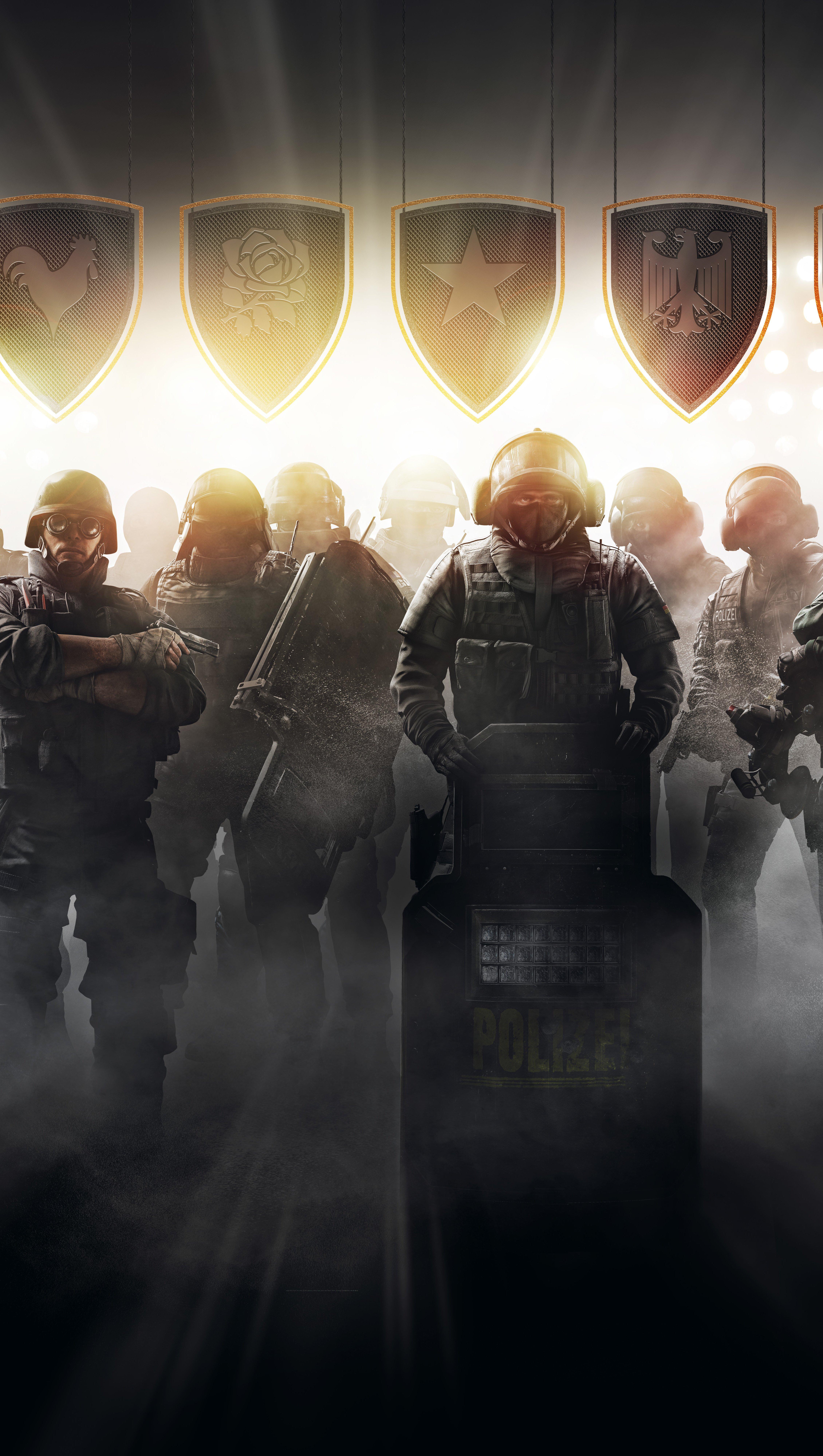 Fondos de pantalla Tom Clancy's Rainbow Six Siege Pro League Vertical