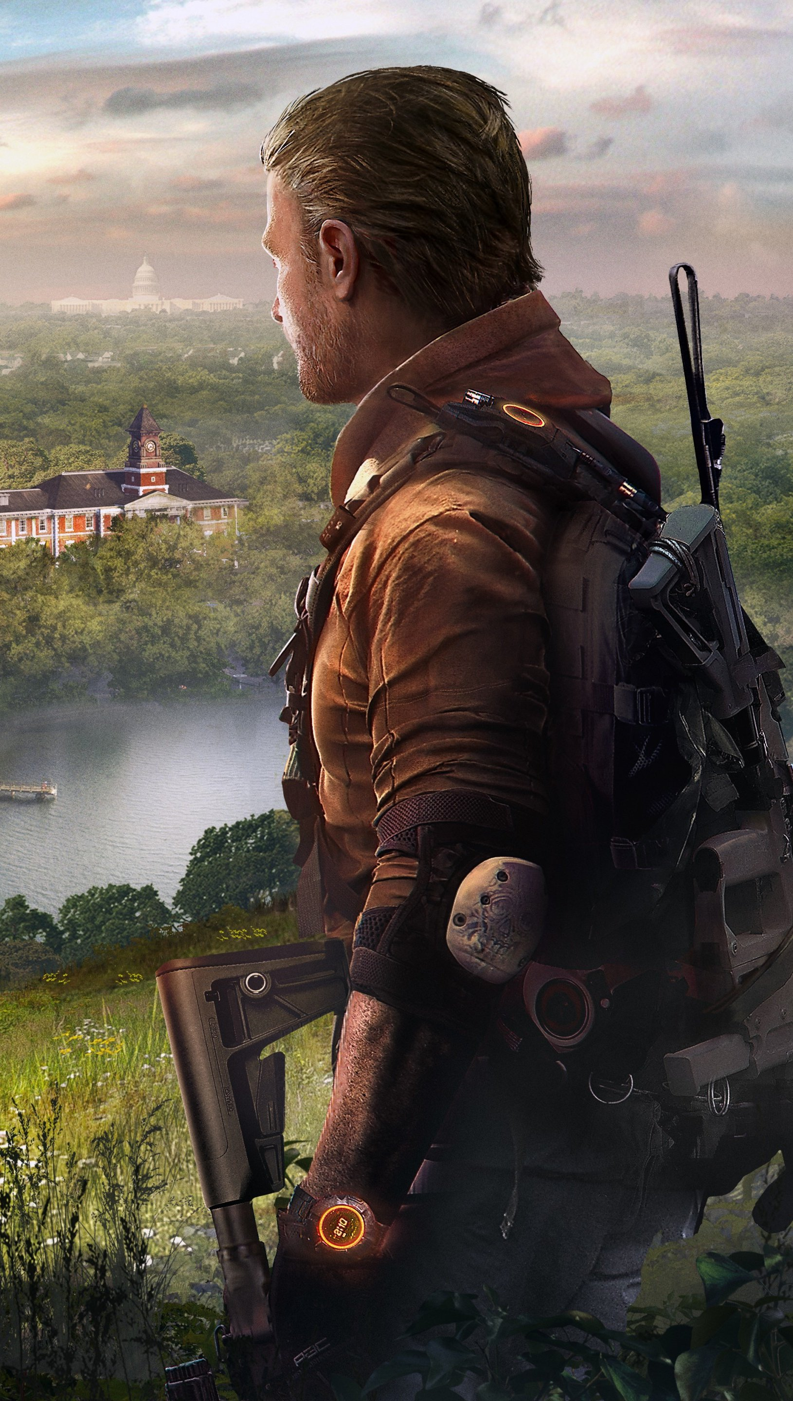 Wallpaper Tom Clancy's The division 2 Episodes Vertical