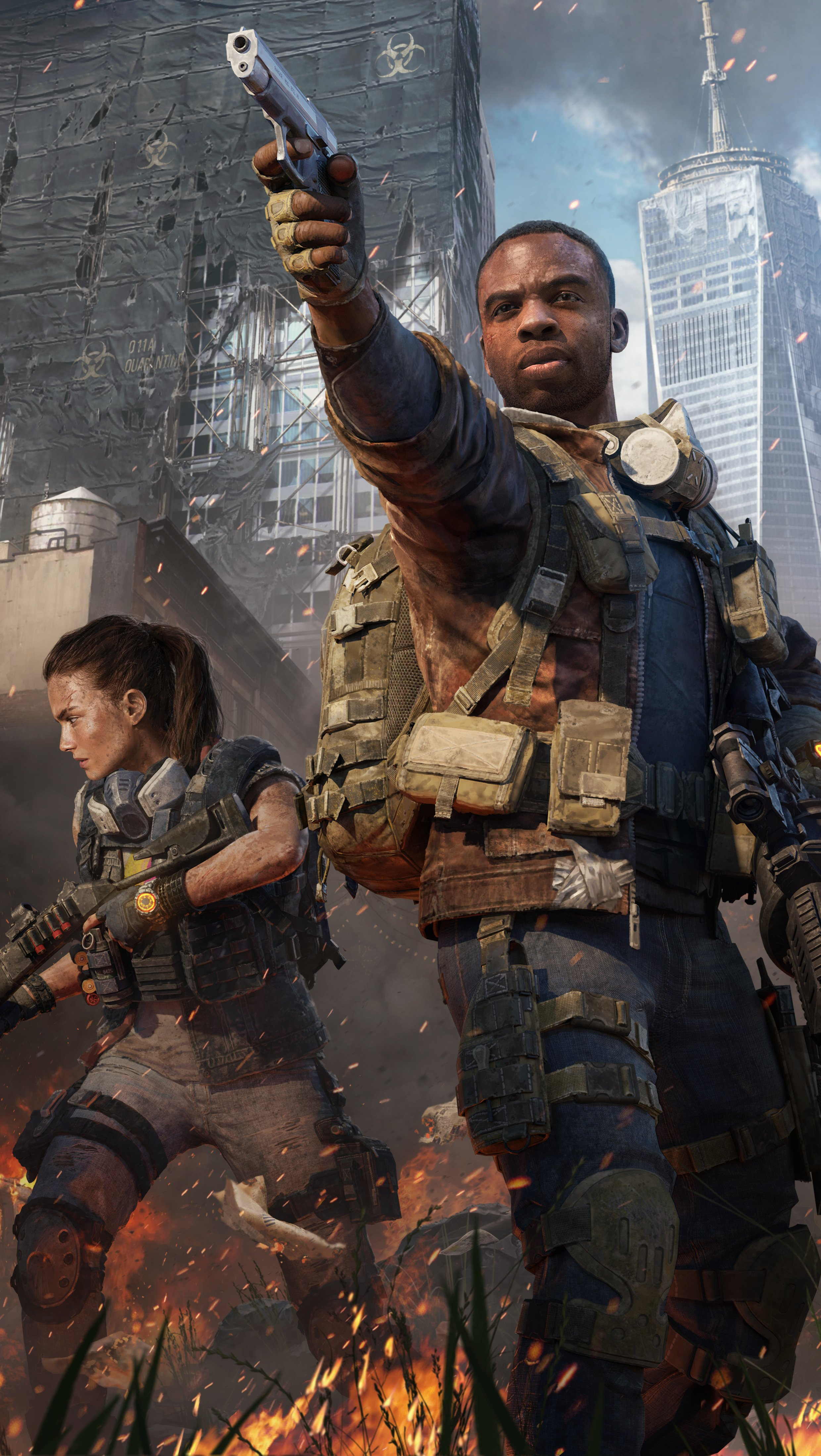Fondos de pantalla Tom Clancy's The Division 2 Warlords of New York Vertical