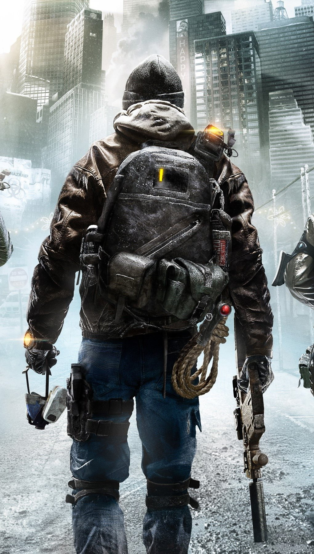 Fondos de pantalla Tom Clancy's: The division 2015 Vertical