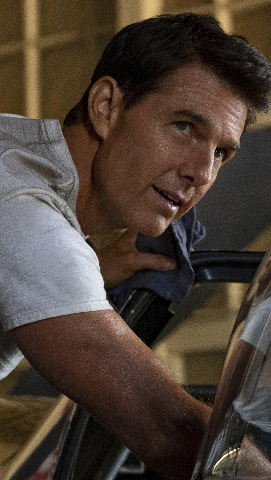 Fondos de pantalla Tom Cruise en Top Gun Maverick Vertical