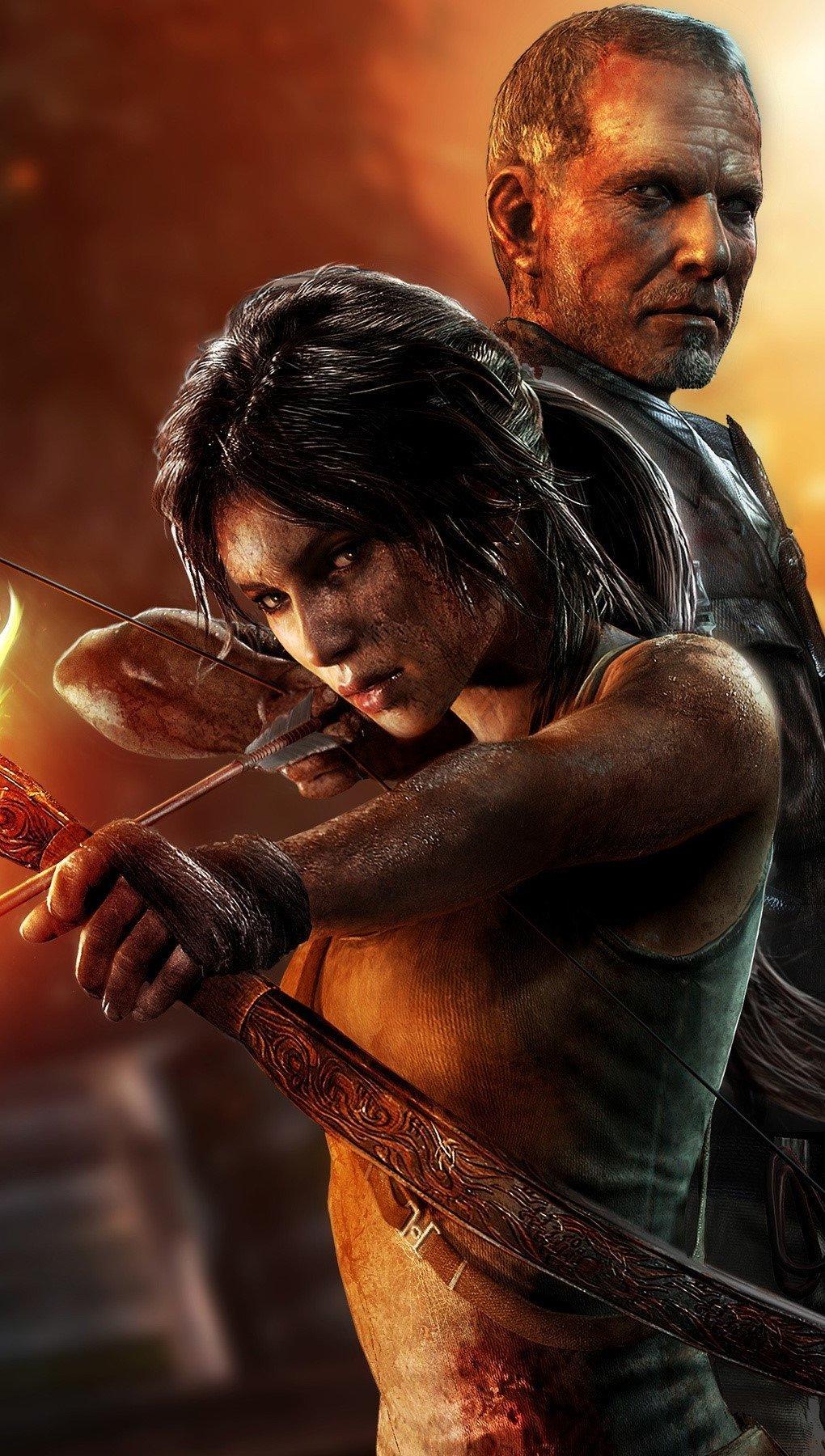 Wallpaper Tomb Raider Vertical