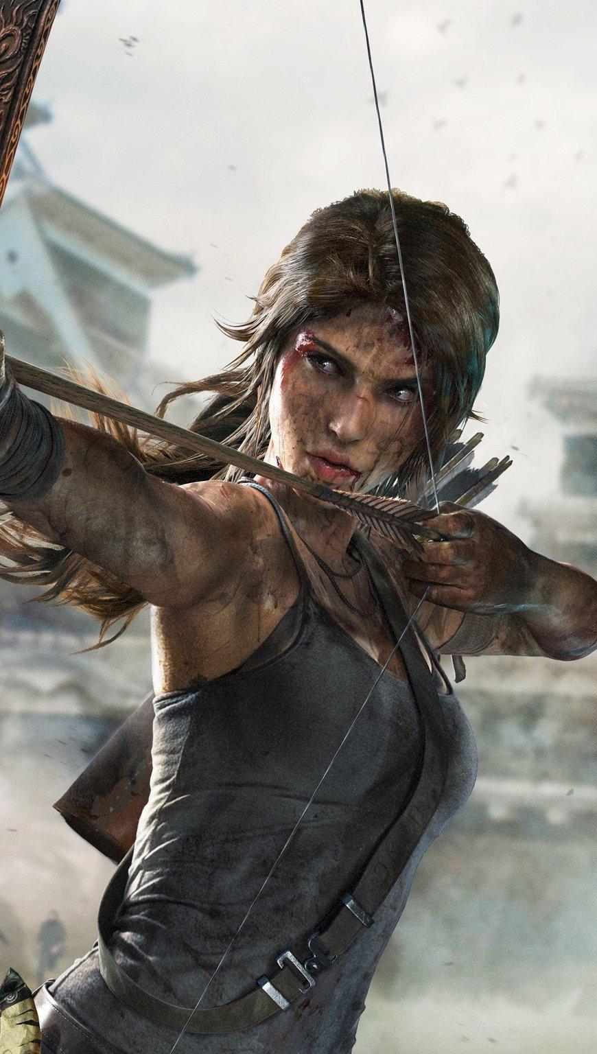 Wallpaper Tomb Raider Definitive Edition Vertical