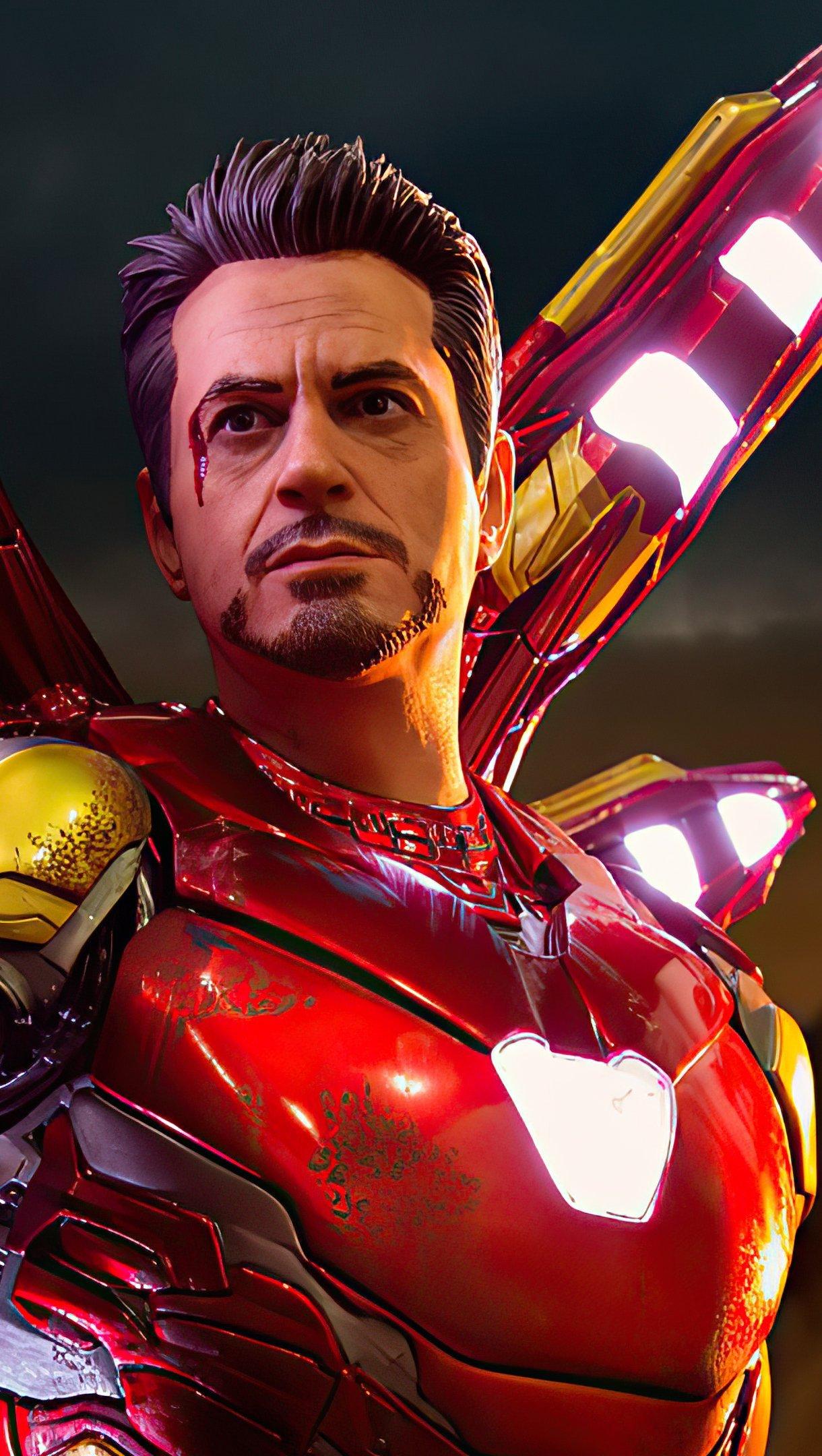 Wallpaper Tony Stark 2020 Vertical