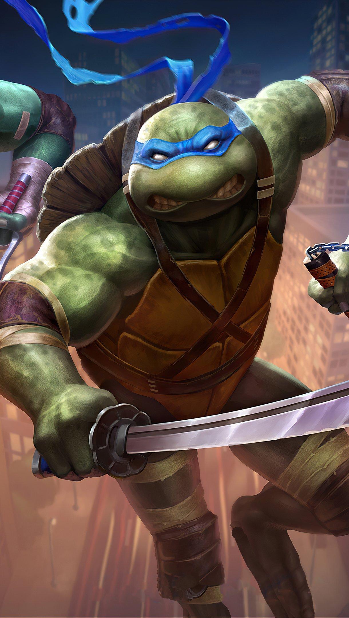 Wallpaper Teenage Mutant Ninja Turtles 2020 Vertical