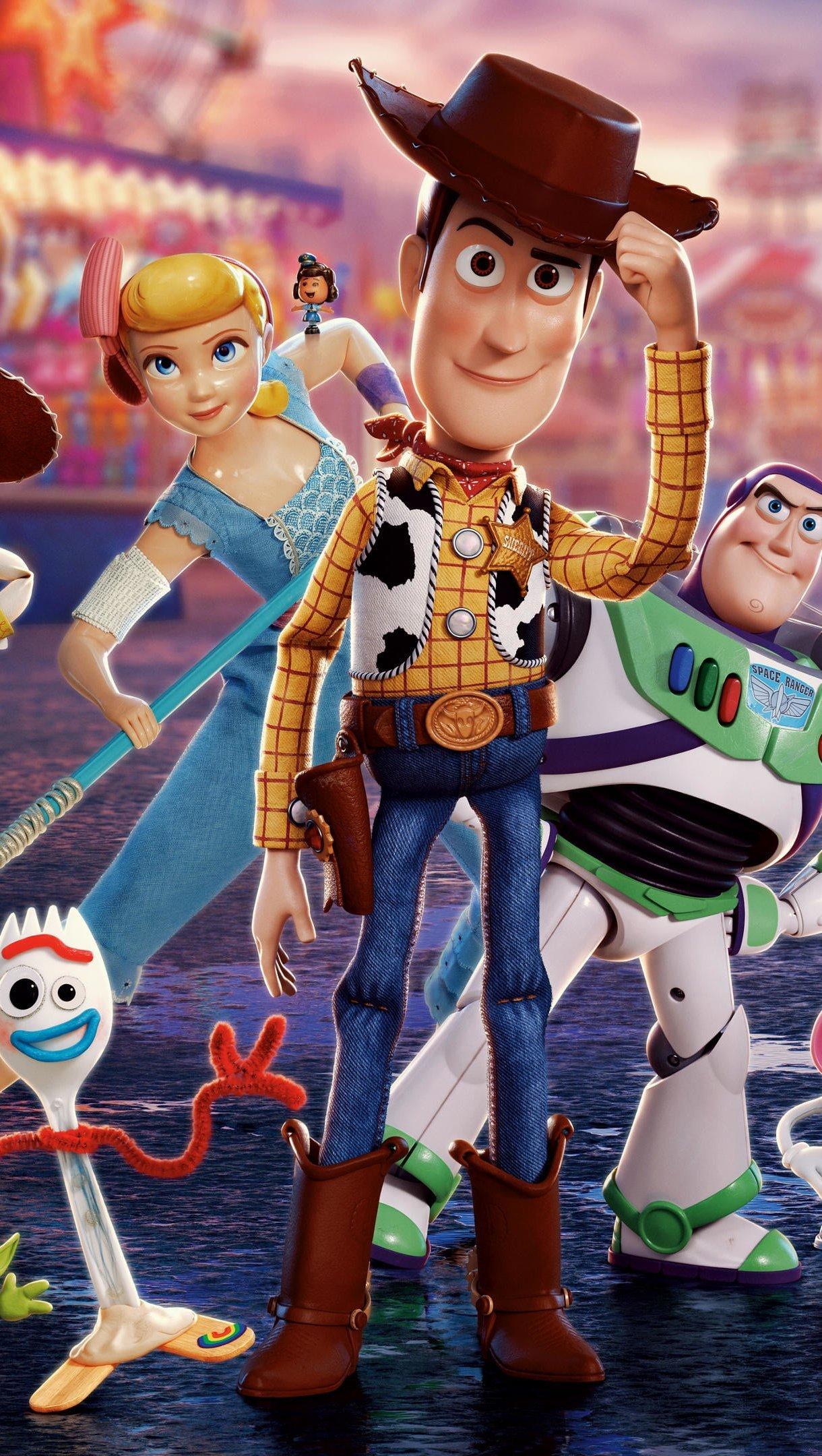 Fondos de pantalla Toy Story 4 Personajes Poster Vertical
