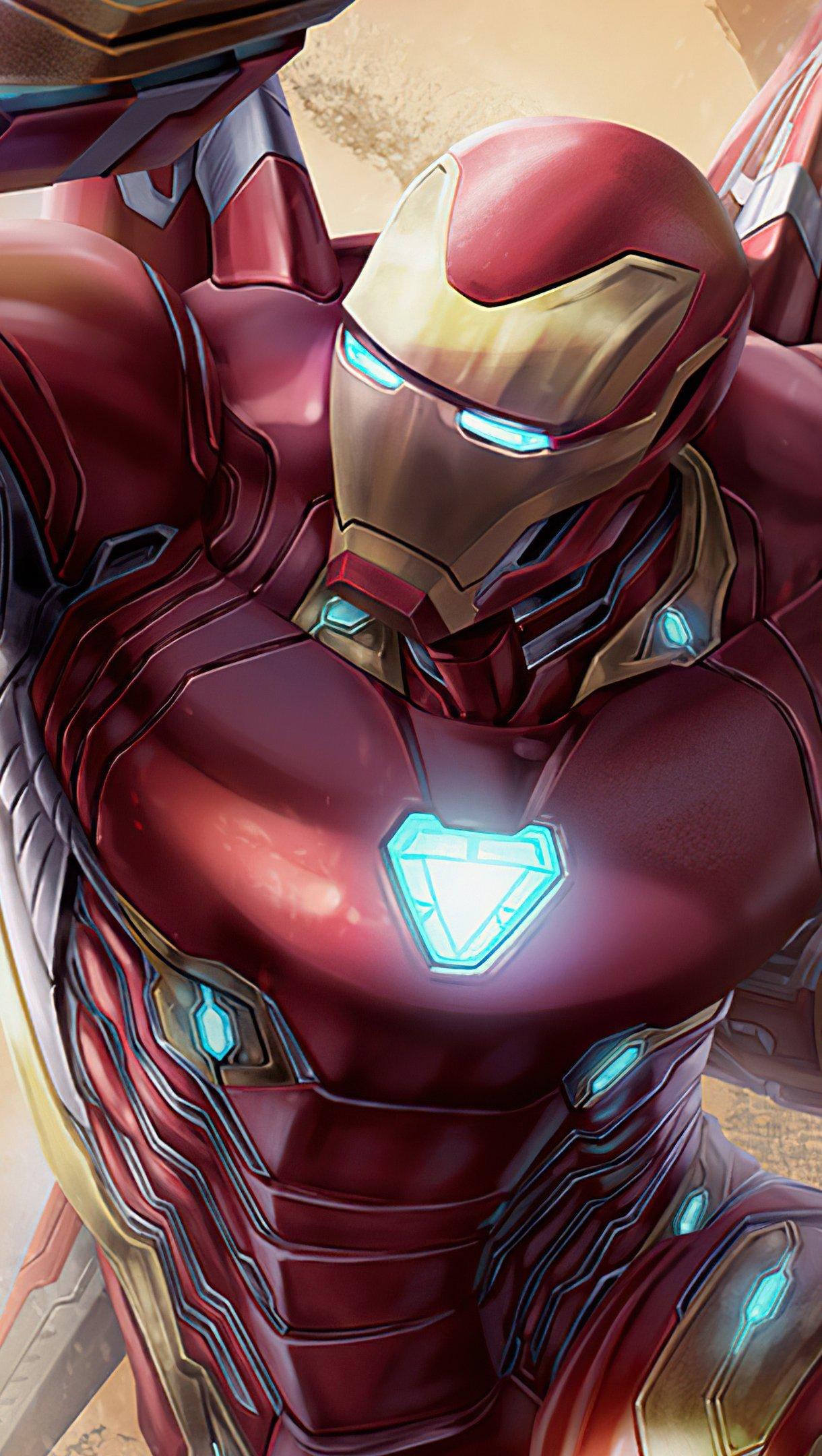 Fondos de pantalla Traje de Iron man 2020 Vertical