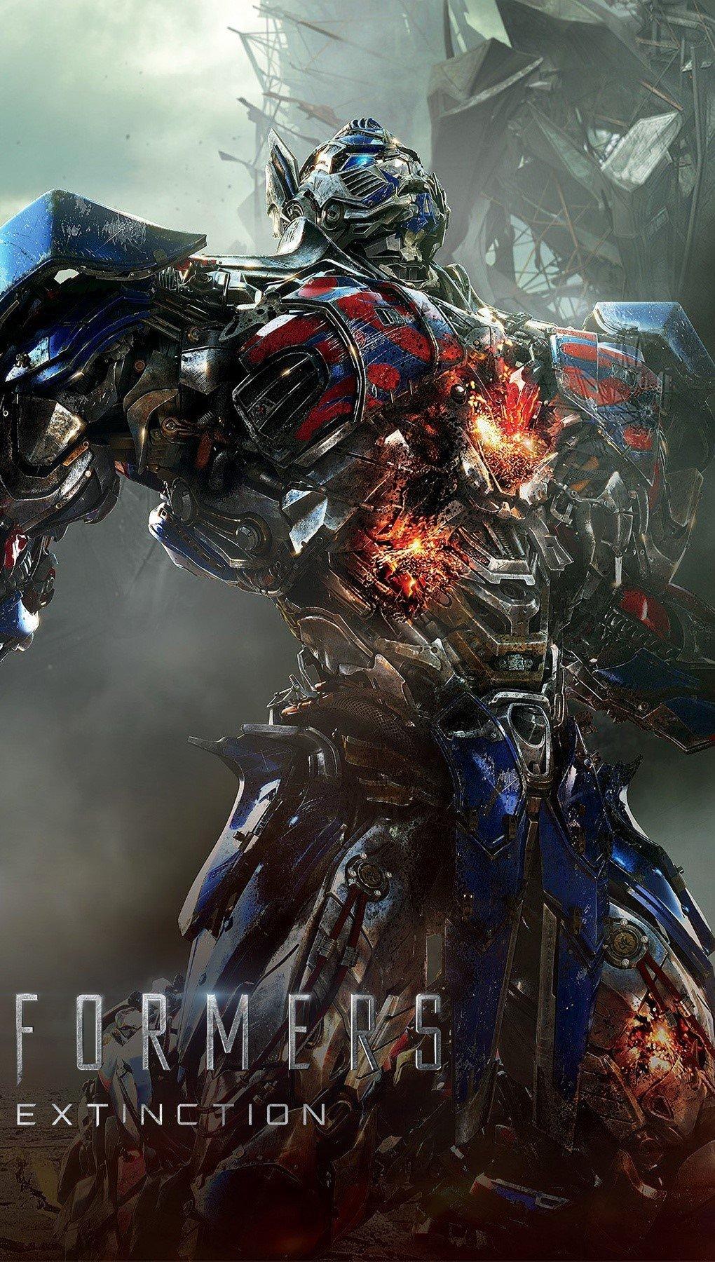 Fondos de pantalla Transformers 4 Age of extinction 2014 Vertical