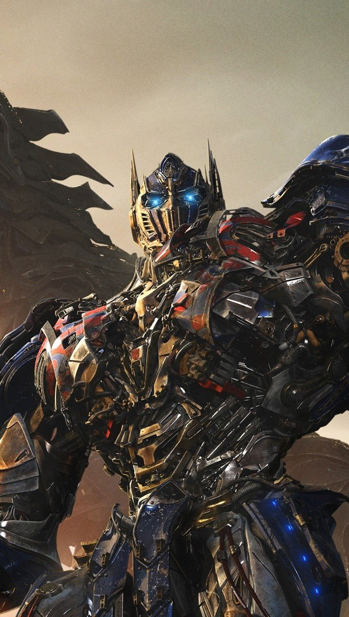 Wallpaper Transformers Age of extinction Imax Poster Vertical