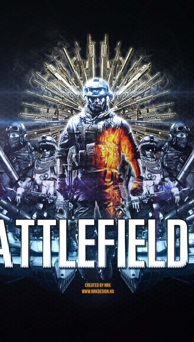 Wallpaper Ultimate battlefield 3 Vertical