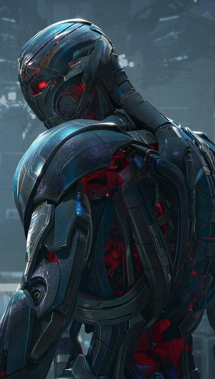 Fondos de pantalla Ultron en Avengers Vertical