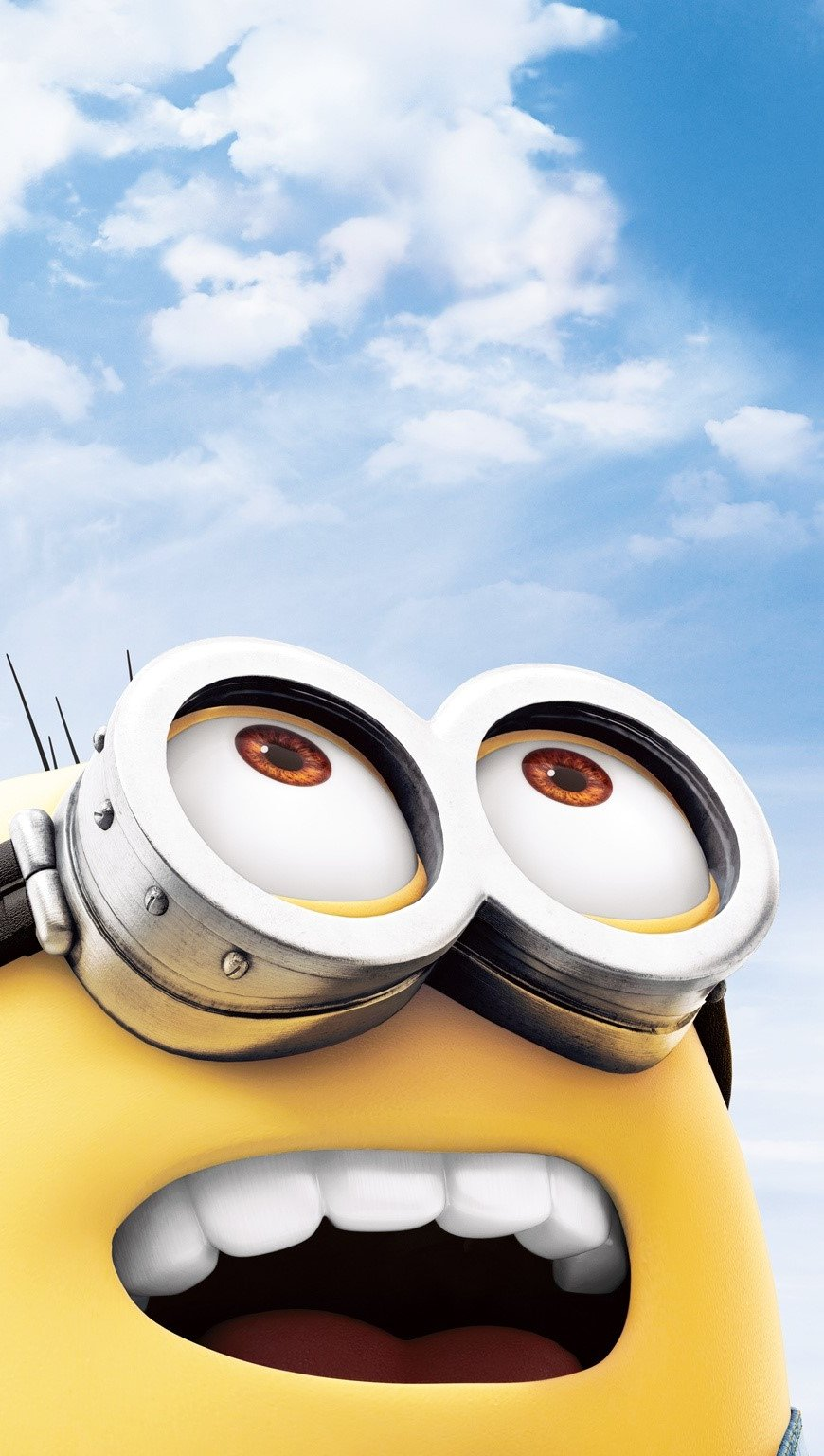 Wallpaper A minion in My favorite villain 2 Vertical
