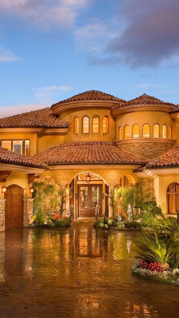 Fondos de pantalla Una casa lujosa Vertical
