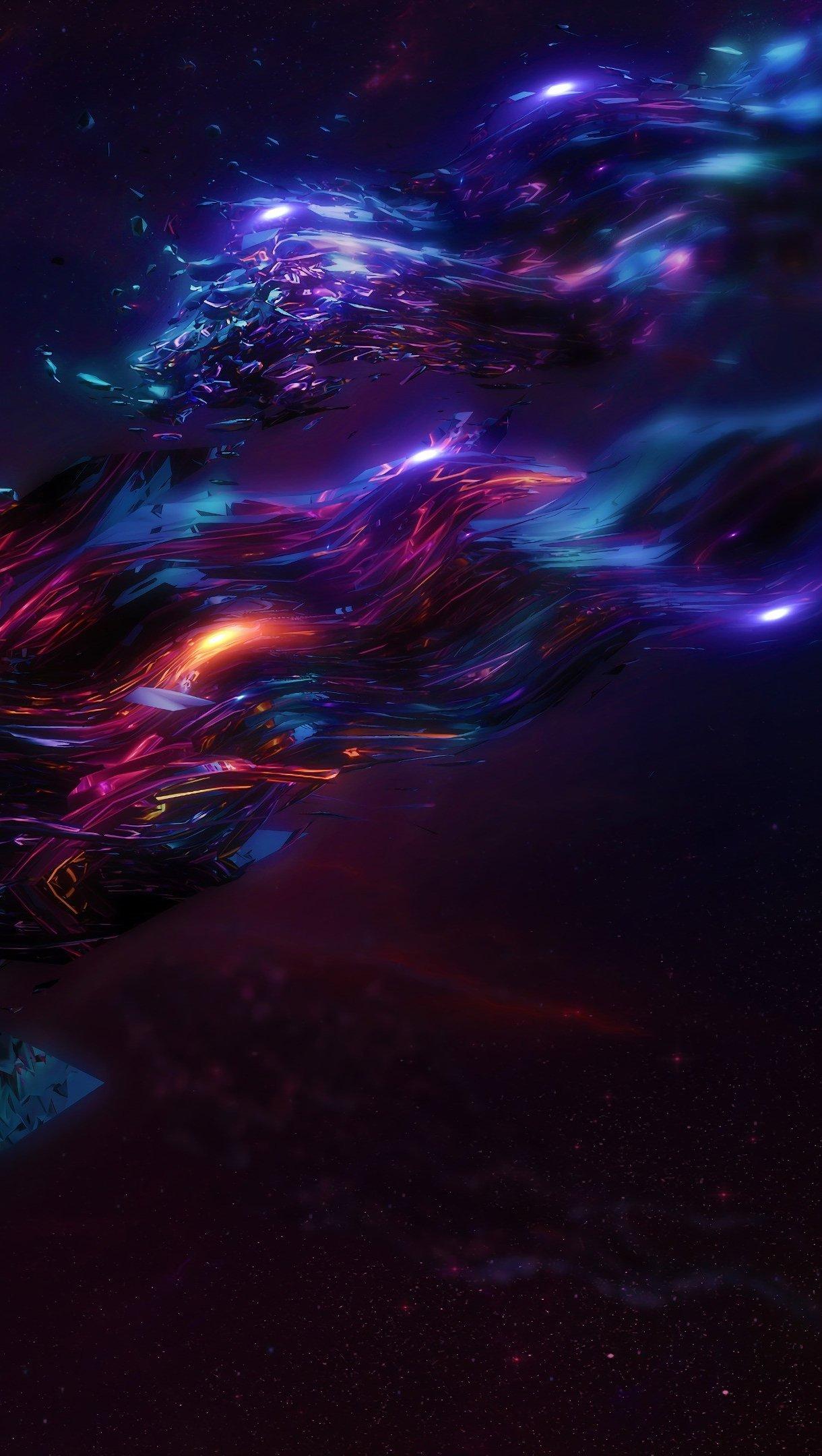 Fondos de pantalla Universo Abstracto Vertical