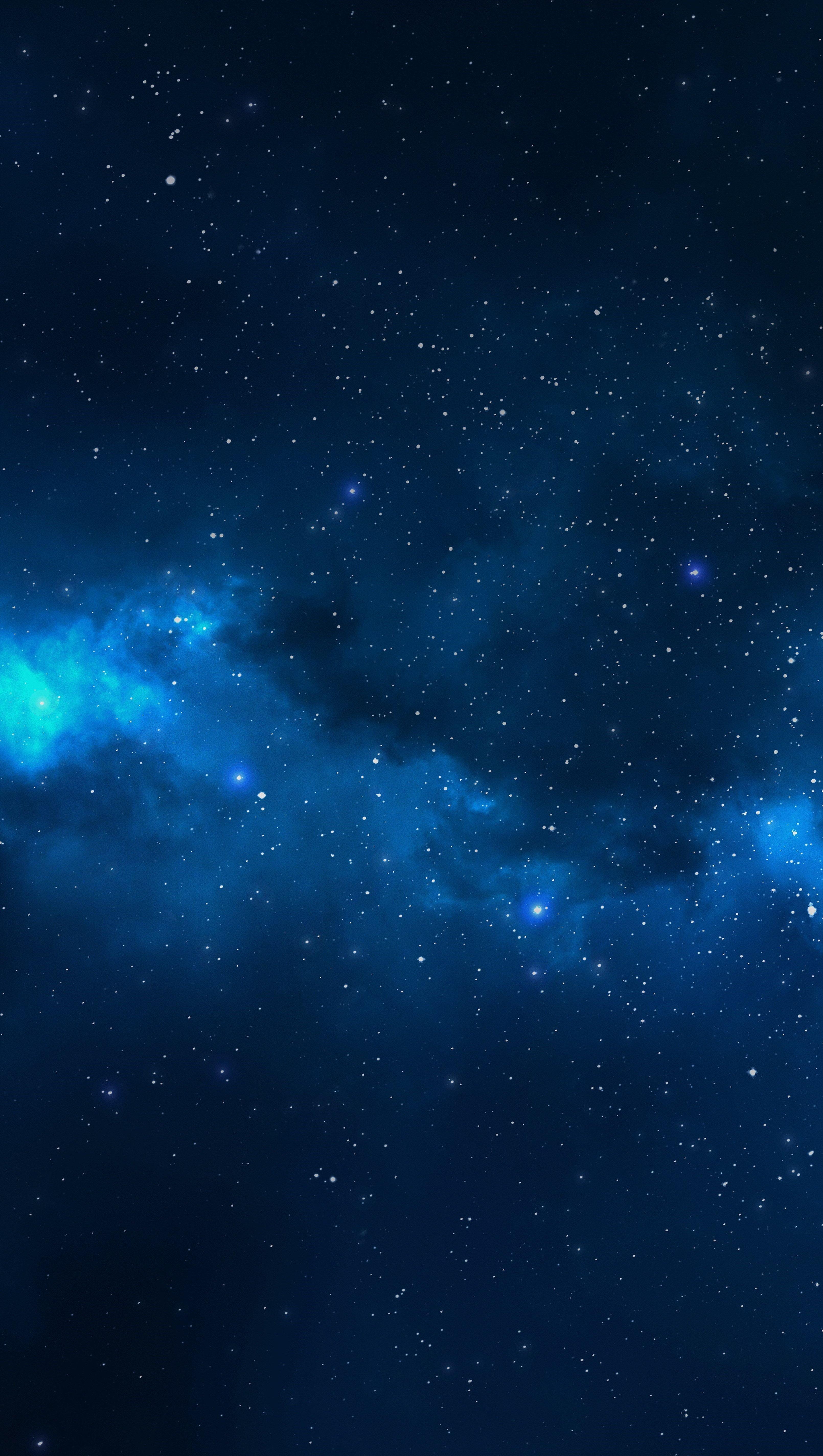Wallpaper Universe - Interstellar space Vertical