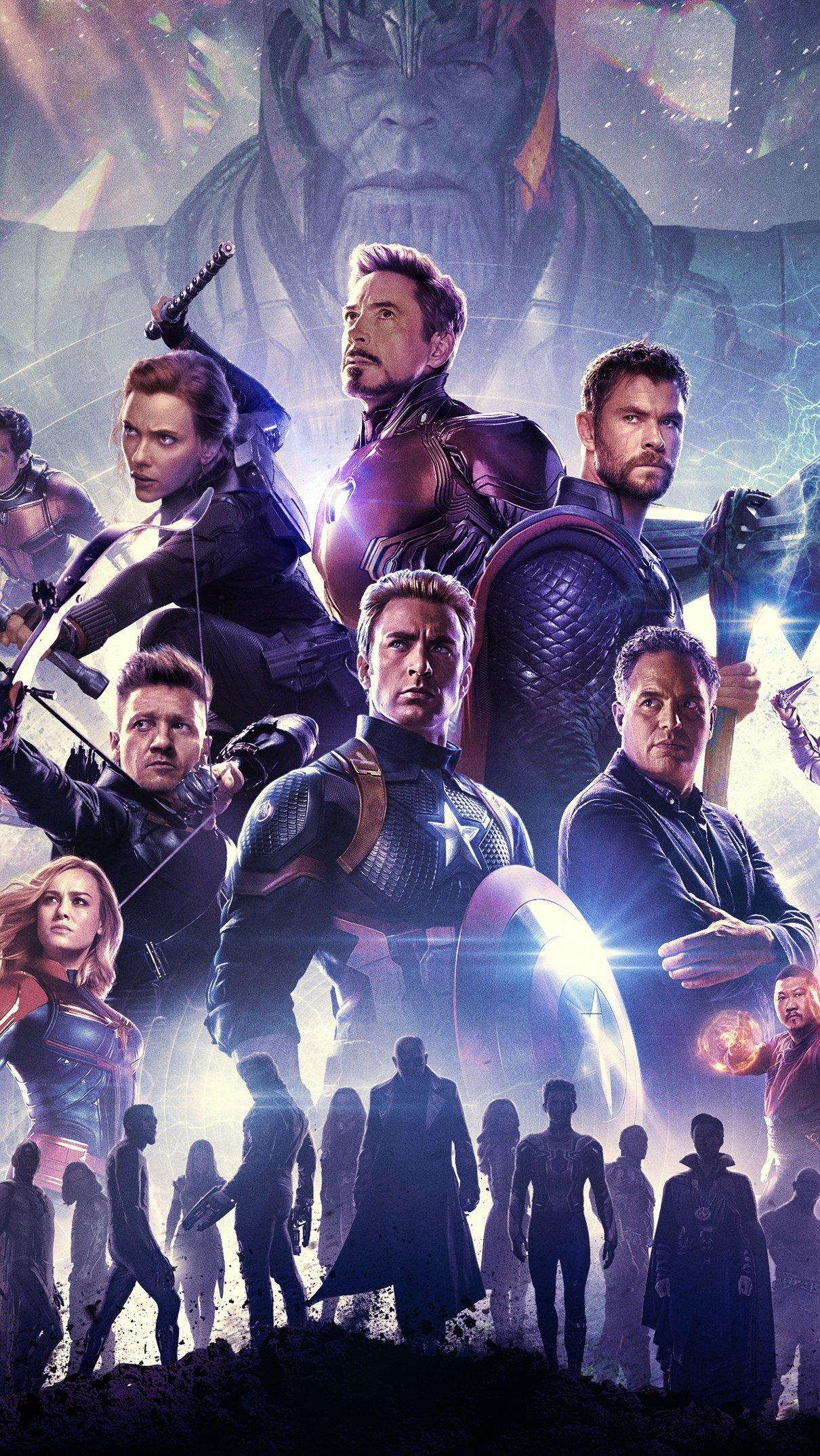 Wallpaper Marvel Universe Avengers Endgame Vertical