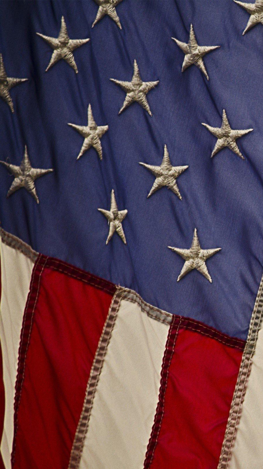 Fondos de pantalla USA flag Vertical