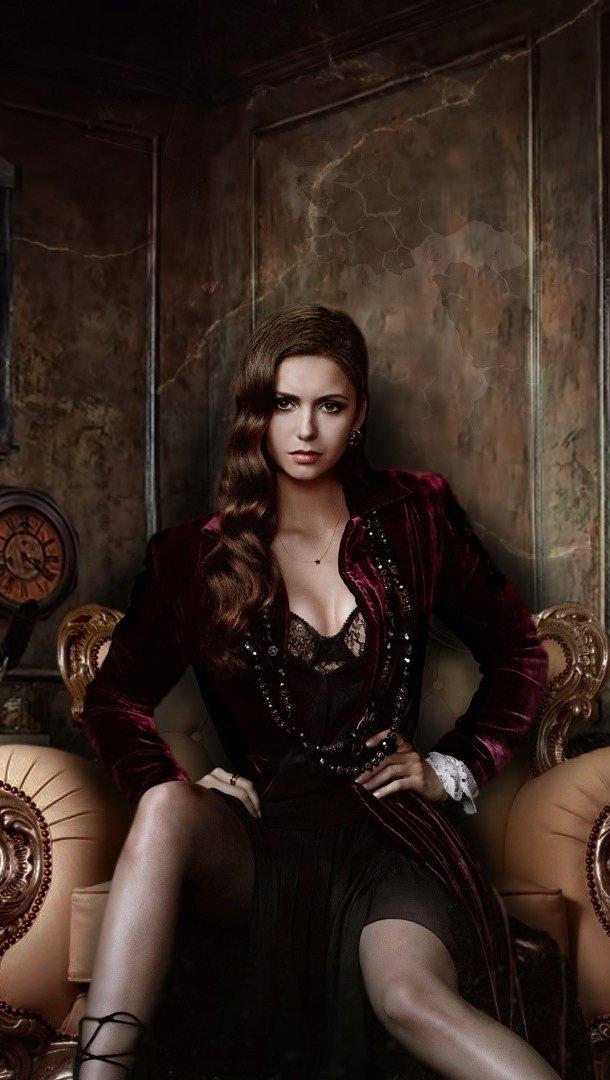 Wallpaper Vampire Diaries season 4 Vertical