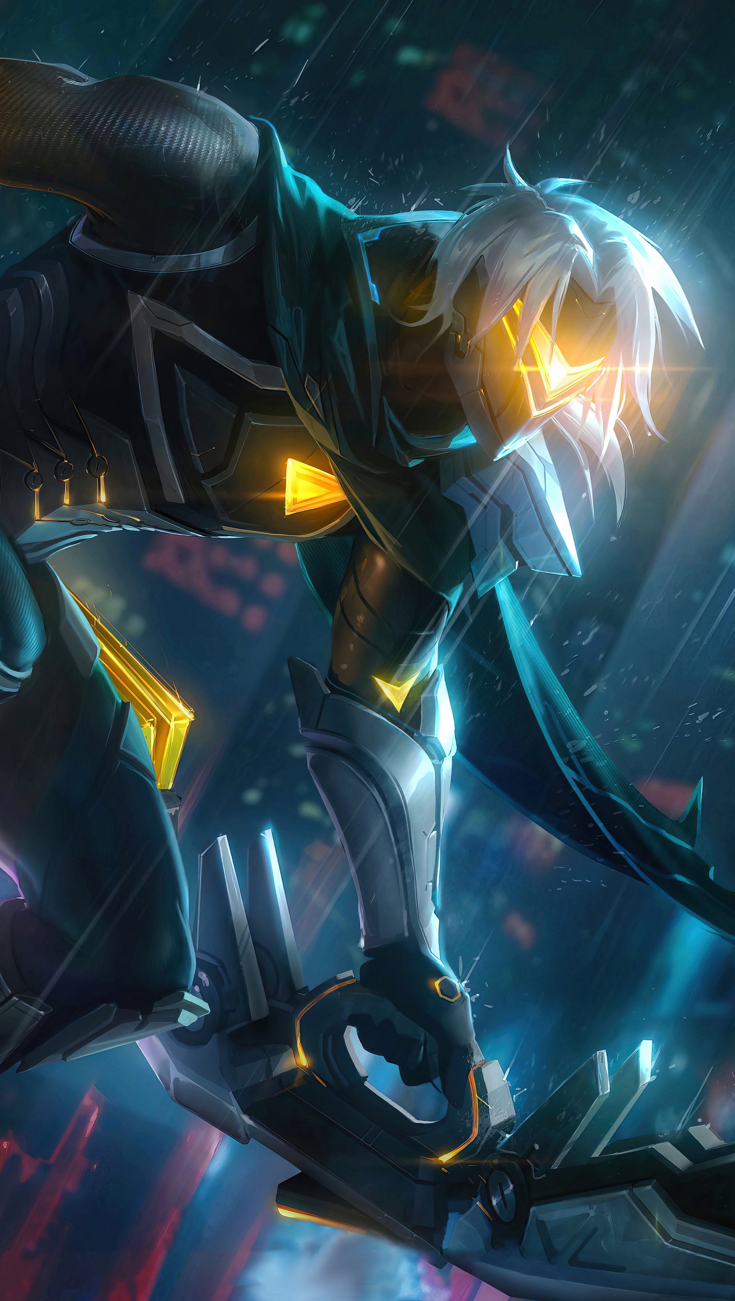 Fondos de pantalla Varus Project League of Legends Vertical