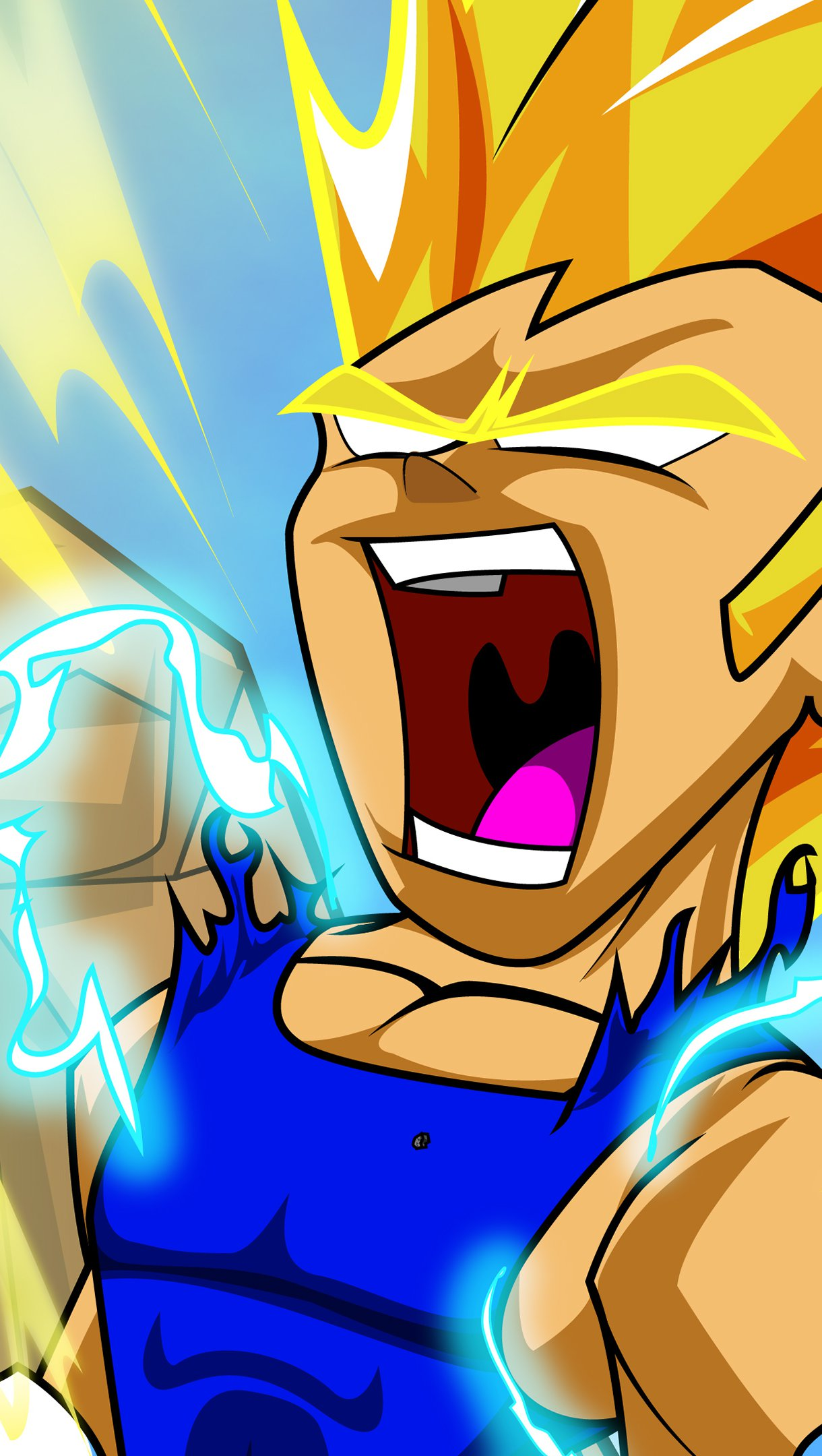 Fondos de pantalla Anime Vegeta Dragon Ball Vertical