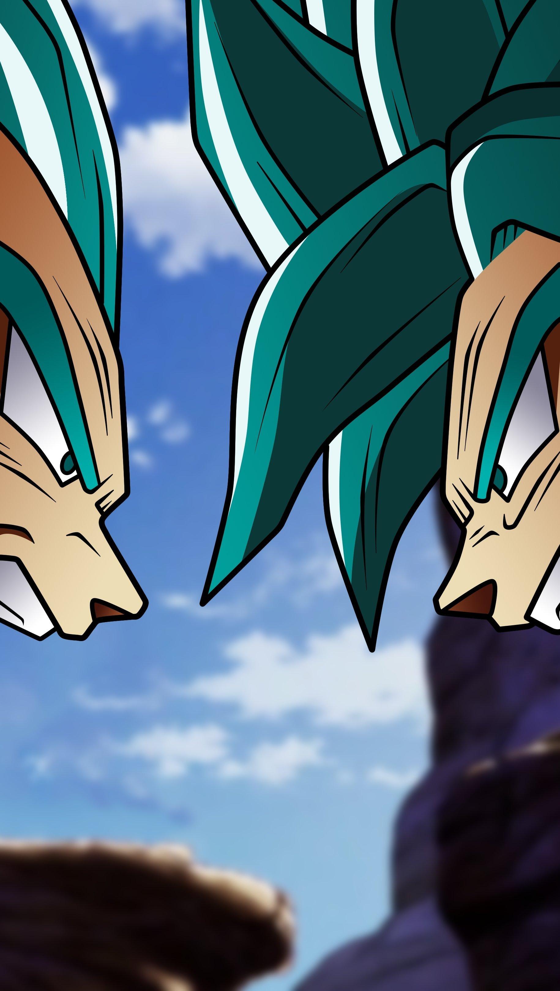 Fondos de pantalla Anime Vegeta VS Goku de Dragon Ball Super Vertical