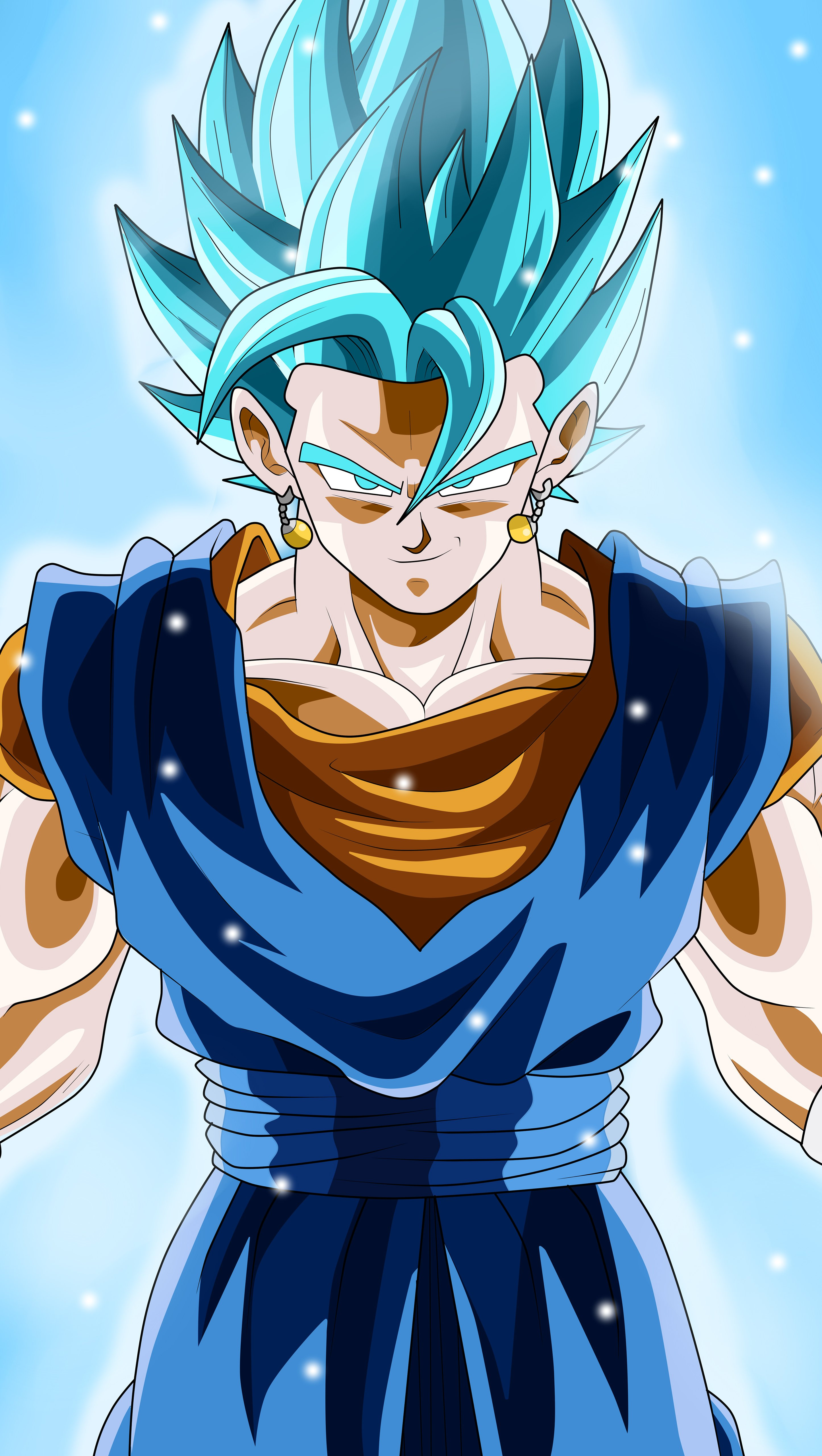 Anime Wallpaper Vegito / Vegetto from Dragon Ball Super Vertical