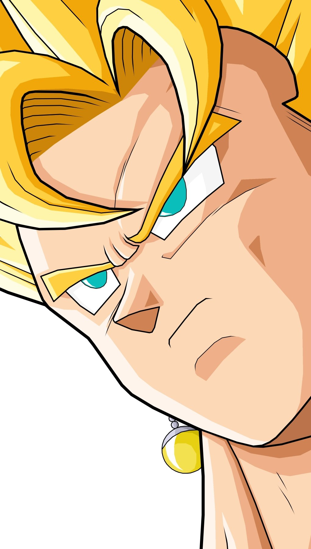 Wallpaper Vegito / Vegetto Dragon Ball Vertical