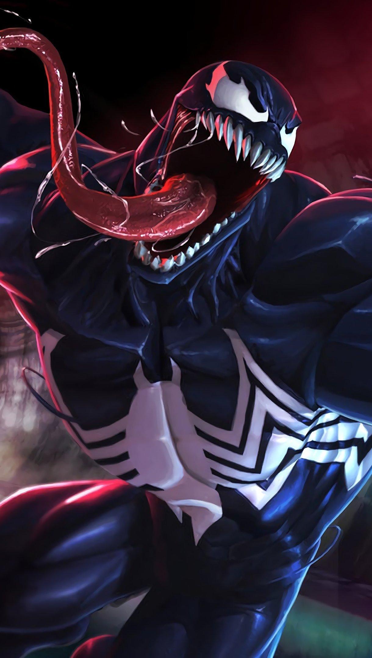 Wallpaper Venom Vertical
