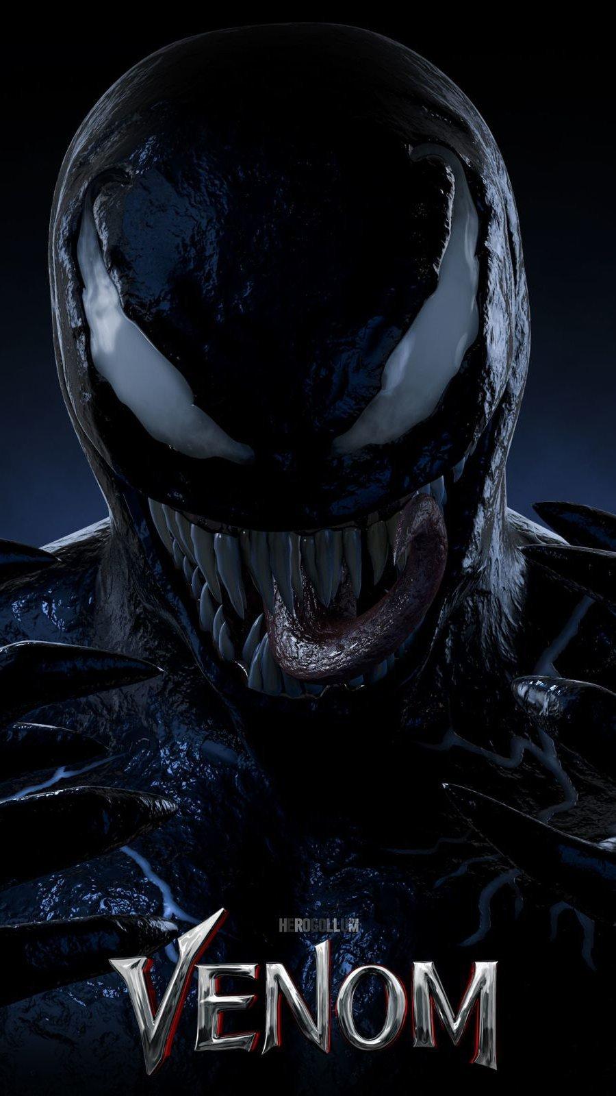 Wallpaper Venom 3D Vertical