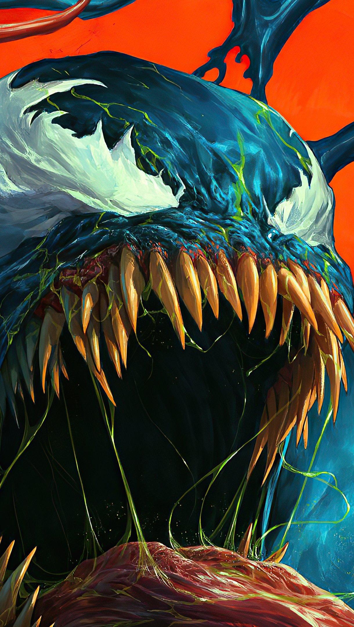 Wallpaper Venom Artwork 2020 Vertical