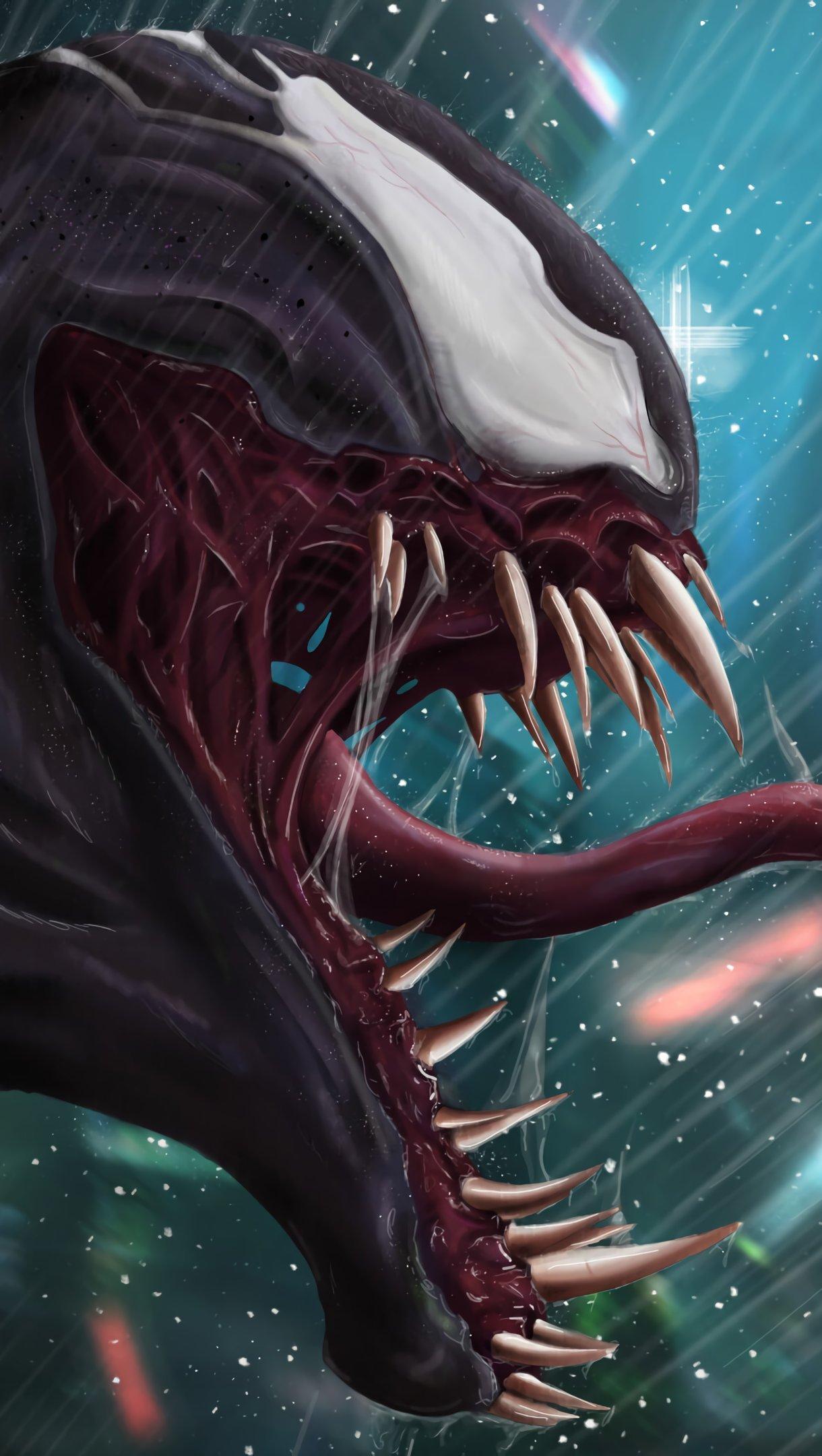 Wallpaper Venom Fanart Vertical