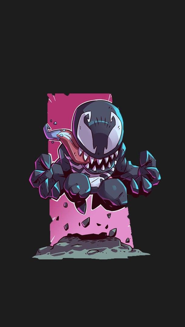 Fondos de pantalla Venom Ilustración Vertical