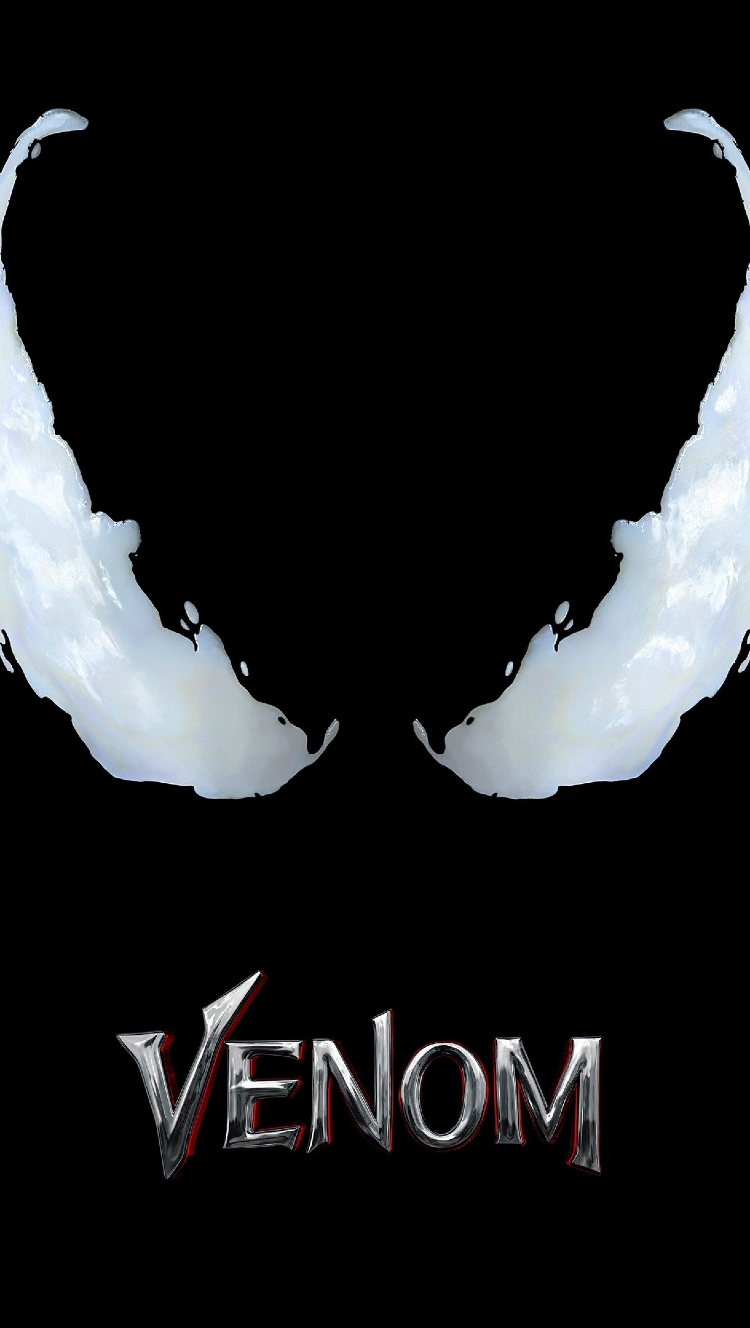 Fondos de pantalla Venom Minimalista Póster de la película Vertical