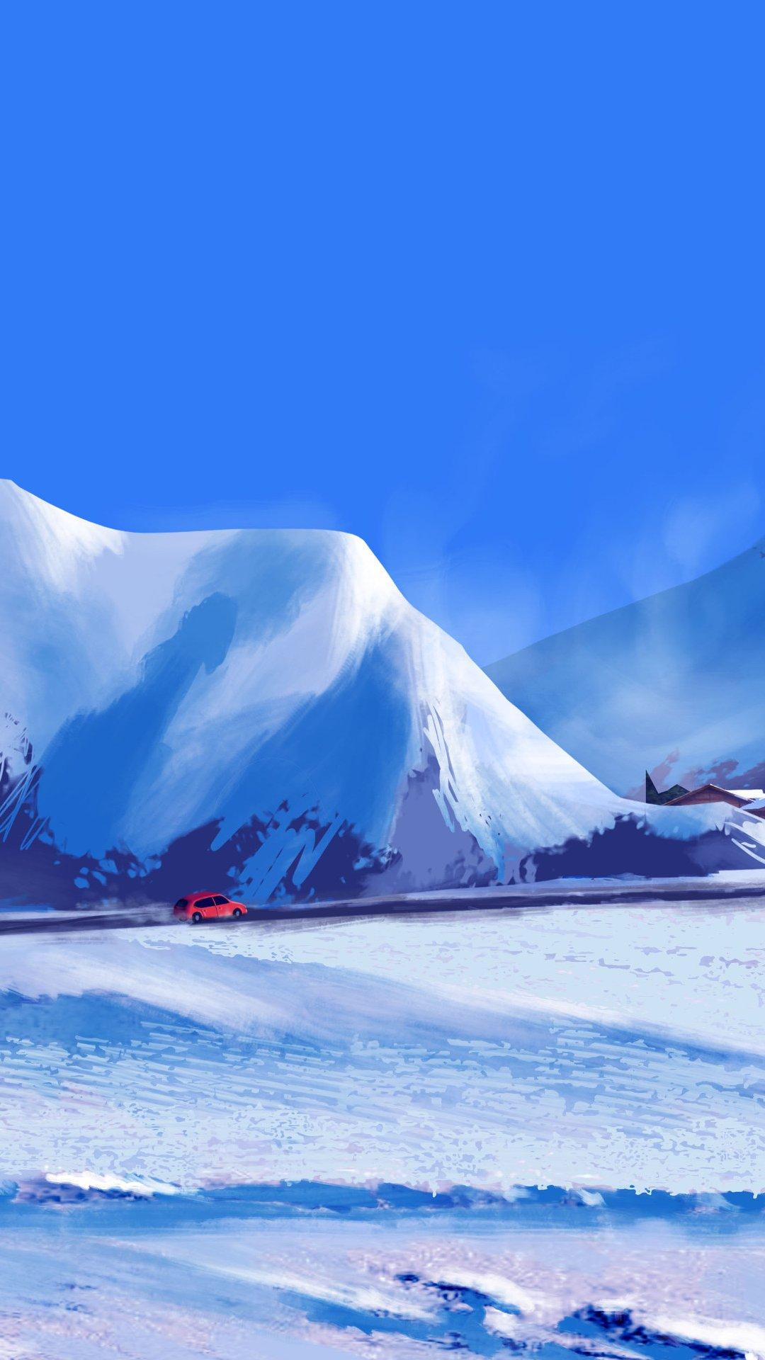 Fondos de pantalla Viaje de invierno Vertical