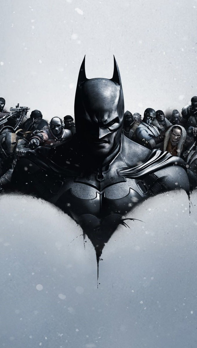 Wallpaper Video game Batman Arkham origins Vertical