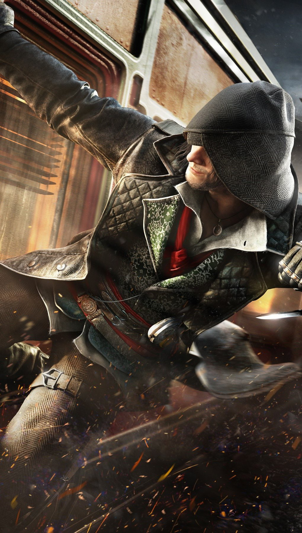 Wallpaper Video game Assassins Creed Syndicate Vertical