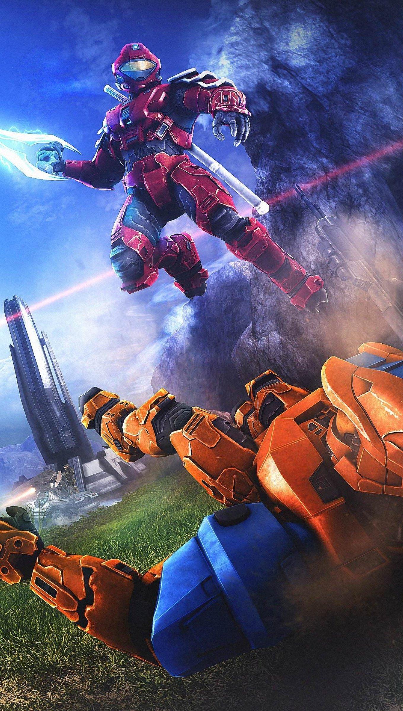 Wallpaper Videogame Halo Vertical