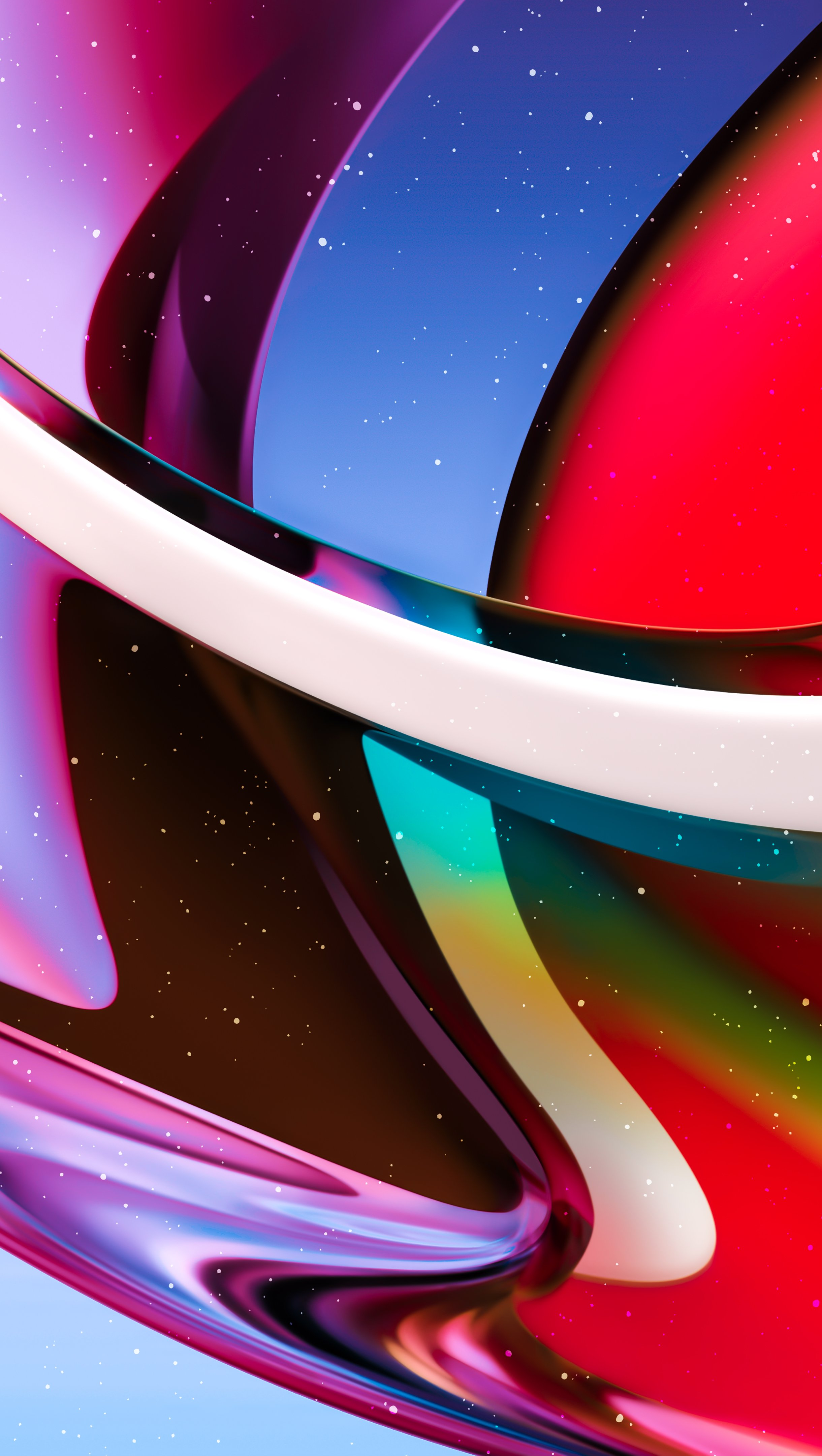 Fondos de pantalla Vidrio de colores Vertical