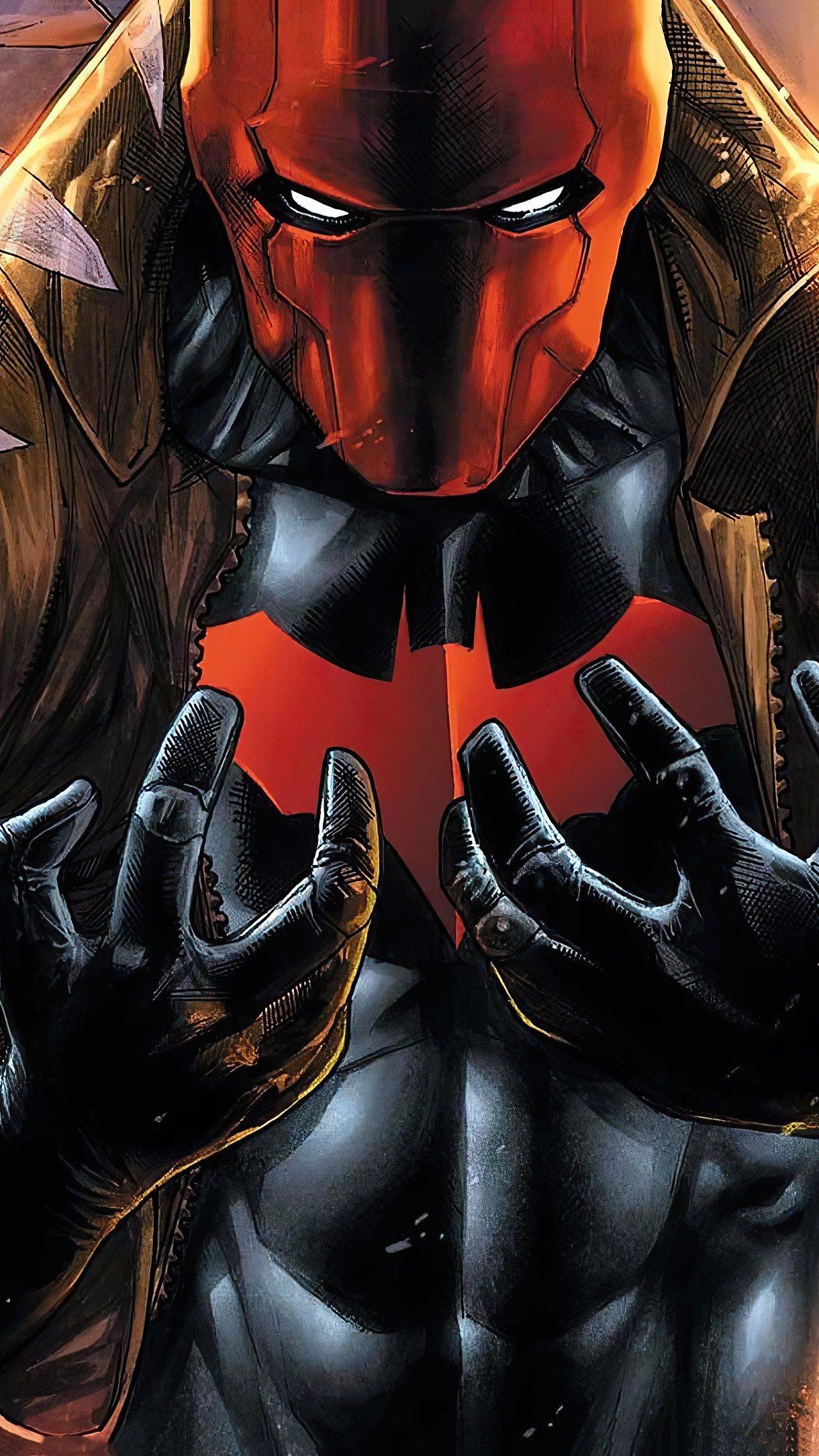 Wallpaper Red Hood Villain Vertical