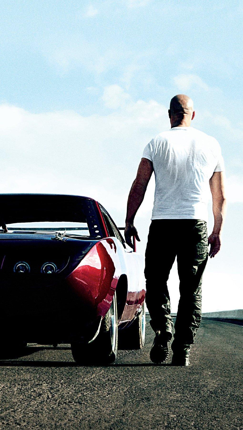 Wallpaper Vin Diesel in Fast and Furious 6 Vertical