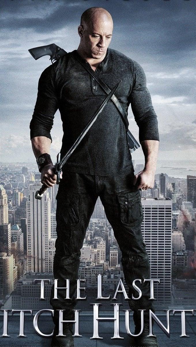 Fondos de pantalla Vin Diesel en The last Witch Hunter Vertical